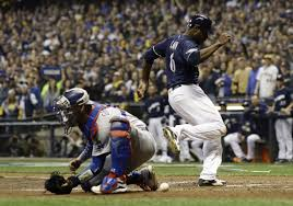 Dodgers-Brewers: Yasmani Grandal's errors costly in NLCS