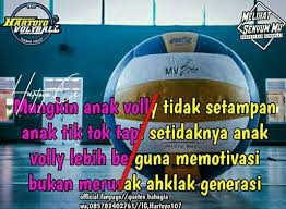 kata kata mutiara volly ball