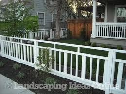Clean Crisp Fencing Fences Gallery Front Yard Fence Front Yard Fence Design