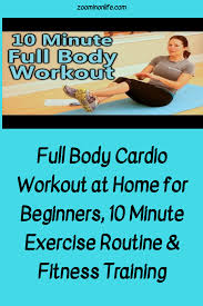 full body cardio workout at home for