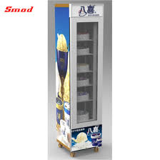 table top upright display freezer