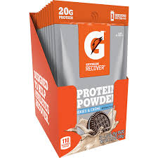 whey protein powder packs cookies