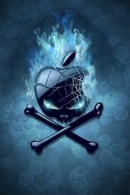apple iphone skull wallpaper bing