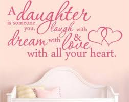 Daughter Wall Decals Etsy