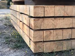 Treated Pine Square Post Robot Building Supplies