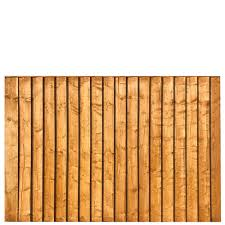 Featheredge Fence Panel 6 Wide X 4 High A P Fencing