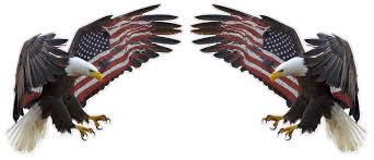 Uv Laminated American Eagle American Flag X Large Pair Decal Nostalgia Decals Die Cut Vinyl Stickers Nostalgia Decals Online