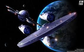 star trek uss enterprise 1701 departing