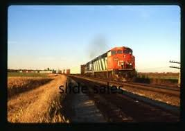 A872 Orig. Slide Canadian National 2401 Byron Hill, WI on 10-10-99 | eBay