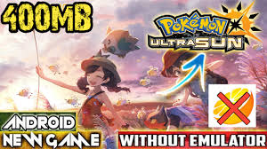 440MB]How To Download Pokemon Ultra Sun And Moon Game On Android    Play  Without Citra Emuluter - King Of Game - King Of Game