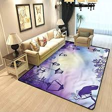 Amazon Com Lantern Kids Room Home Decor Carpet Ancient Street Night Children S Nursery Dormitory Room Home Decoration Carpet W4 5 X L5 2 Feet Kitchen Dining