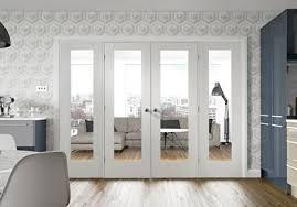white easi frame room divider doors