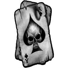 Laminated Car Sticker Skull Spades A Skull Sticker Car Decal Car Decal Sticker Fee Buy At A Low Prices On Joom E Commerce Platform