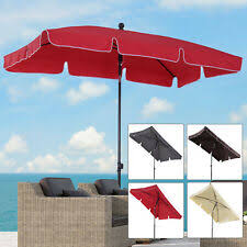 rectangular parasol for