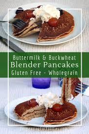 ermilk buckwheat pancakes from