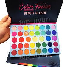 eyeshadow palette matte shimmer shiny
