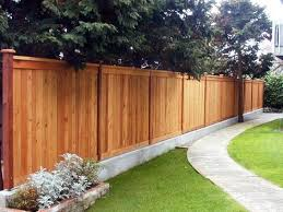 Concrete Base For Fence Found In The Uk Privacy Fence Landscaping Privacy Fence Designs Backyard Fences
