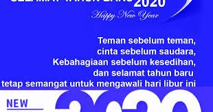 selamat tahun baru ucapan ucapan bijak terbaru untuk
