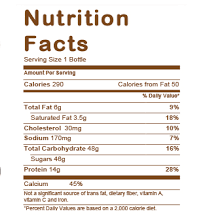 dunkin donuts nutrition iced coffee