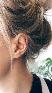 Minimal Ear Cuff Przekluwanie Uszu Kolczyki Piercing