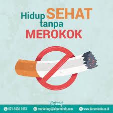 yuk hidup sehat tanpa merokok 😊 doremindo advertising do