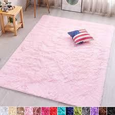 Amazon Com Pagisofe Soft Girls Room Rug Baby Nursery Decor Kids Room Carpet 4 X 5 3 Pink Furniture Decor
