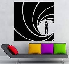 Amazon Com V Studios Vinyl Decal James Bond 007 Spy Cia Fbi Secret Service Agent Wall Sticker Vs998 Home Kitchen