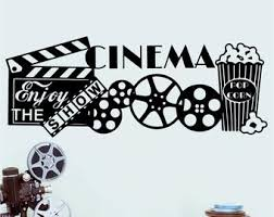 Theater Wall Decal Etsy