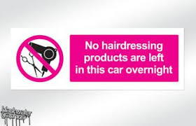 No Hairdressing Products