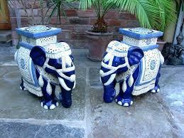 ceramic elephant garden stool mrtailor co