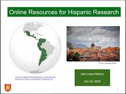 Online Resources for Hispanic Research - Ada Nelson - YouTube