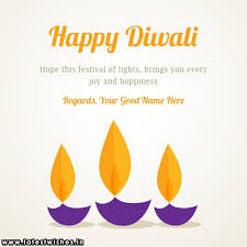 write your on happy diwali diya quotes hd
