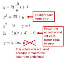 solve systems of logarithmic equations