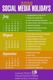 social media holidays you need in indispensable