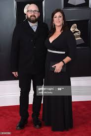 Mixing engineer Adam Hawkins and guest attends the 60th Annual GRAMMY...  News Photo - Getty Images