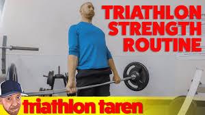 triathlon strength routine