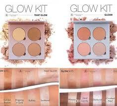 glow kit metallic powder bronzers