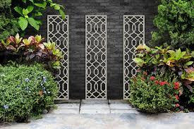 Screen With Envy Garden Trellis Helix Design Cream Amazon Co Uk Garden Outdoors