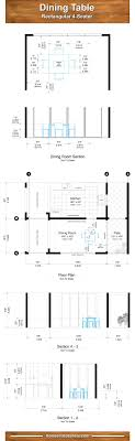 proper dining room table dimensions for