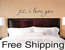 Amazon Com P S I Love You Vinyl Wall Decal Sticker Romantic Quote Love Art 20 X 5 Handmade