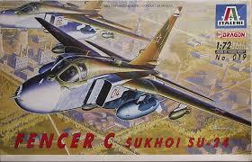 Sukhoi Su 24 Fencer C Italeri 019 1992