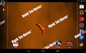 texas longhorns live wallpaper 4 2 free