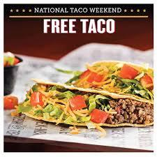 free taco at taco bueno