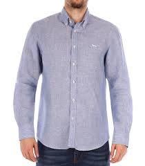 Harmont & Blaine camicia in lino - Sport Life Store