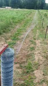 Home Made Wire Unroller Works Great M A Farm Fence Solutions