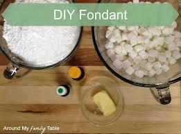 how to make homemade fondant around