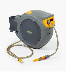 hozelock auto retracting hose reel
