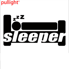 Funny Sleeper Car Sticker Decal Vinyl For Jdm Illest Drift Hoon Lowered Car Stickers Decals Vinyl For Carscar Vinyl Aliexpress