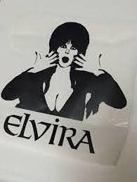 Elvira Mistress Of The Dark The Iconic Horror Hostess Vinyl Sticker Decal Vinyl Sticker Icon Horror