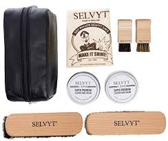 selvyt 1890 luxury shoe care kit with